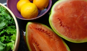 Watermelon.  Seriously, how can something so tasty be so good for you?  It just feels wrong.