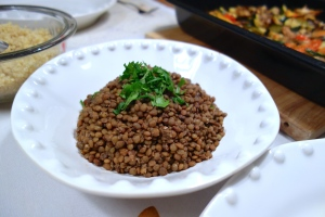 Cumin lentils, so simple, so good!