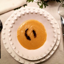 Red lentil soup... so warming and filling!